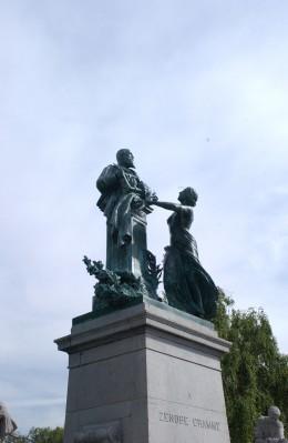 Zénobe Gramme Monument, Liège, by Thomas Vinçotte.