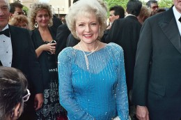 Betty White in 1988 at the Emmy Awards.
