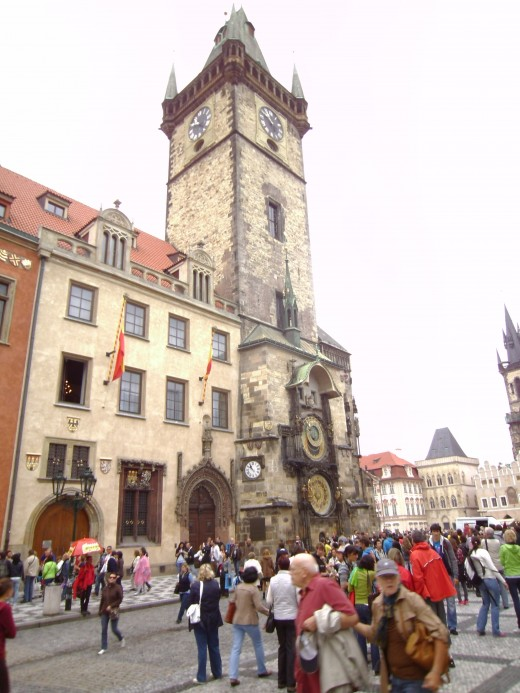 Astronomical Clock at the Prague Town Hall