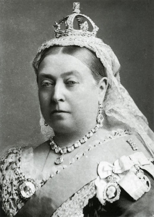Kipling's Widow at Windsor