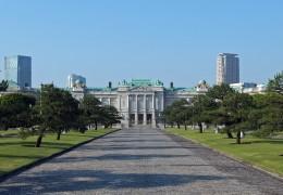 Akasaka Palace, Minato-ku Tokyo Japan, designed by Tokuma Katayama in 1909. National Treasures of Japan.
