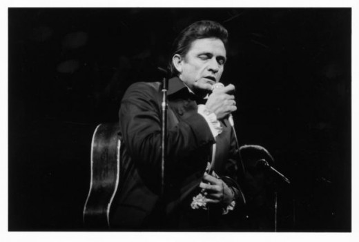 Country singer: The late Johnny Cash