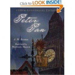 Archetype of Peter Pan In Its Original Book