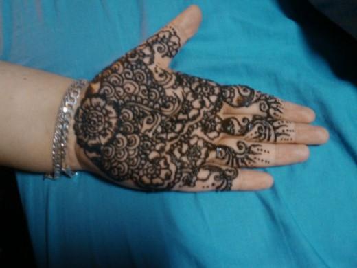 My Henna Designs!