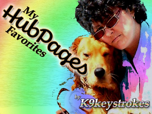 Kal and K9keystrokes express love for their favorite Hubbers.