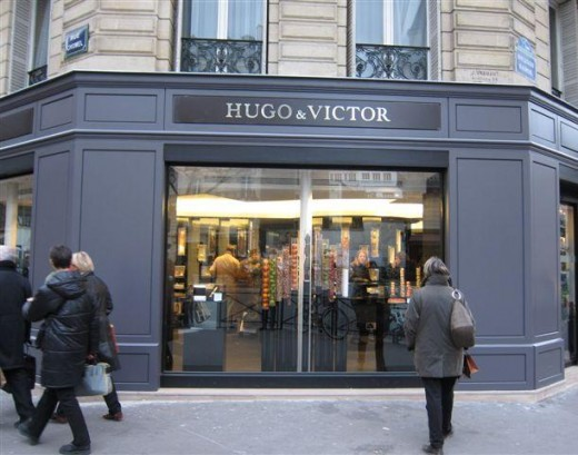 Hugo & Victor facade in Paris.