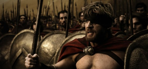 The movie 300 is known for its inspiring pre-battle speech.