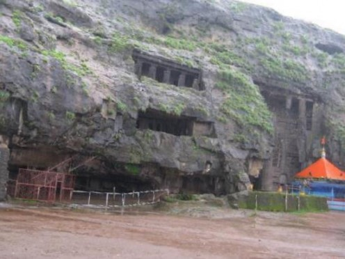Karla Caves - Outside view