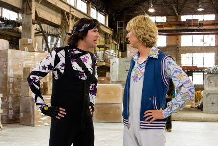 Chazz (Will Ferrell) and Jimmy (John Heder) begin working together on the ice