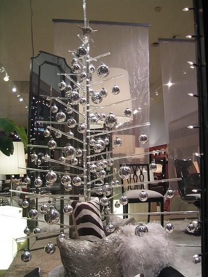 Ultra-modern Christmas tree