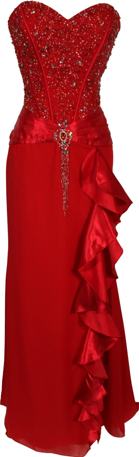 Dream Red Evening Dress Ebay
