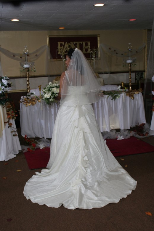 My wedding dress from eBay