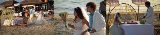 Bali Beaches: Romantic Wedding on Jimbaran Beach