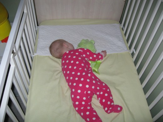 Sleep Achieved in her Crib!  [Ultimate Goal]
