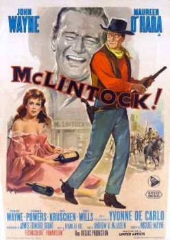 Good Public Domain Movies: McLintock!