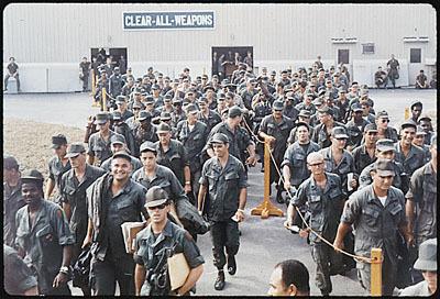 RETURNING FROM VIETNAM
