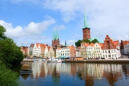 Lubeck, birth city of Thomas and Heinrich Mann
