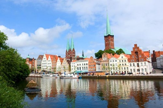 Lubeck, birth city of Thomas and Heinrich Mann