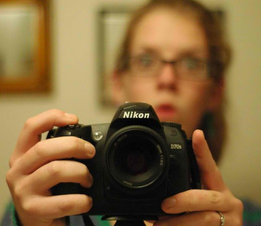 a Nikon dSLR (image requires attribution)