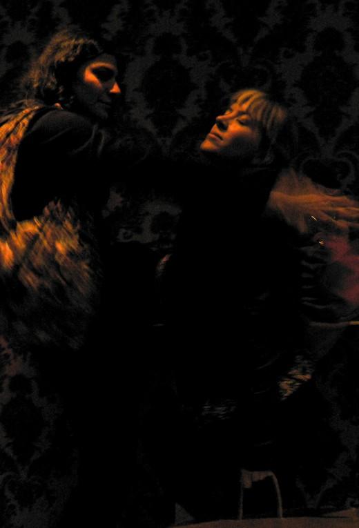 Dancing sweet slow tango