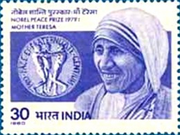 Mother Teresa stamp of India