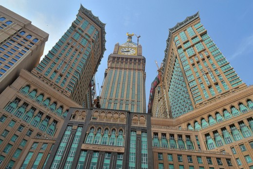 The Abraj Al Bait Tower Clock