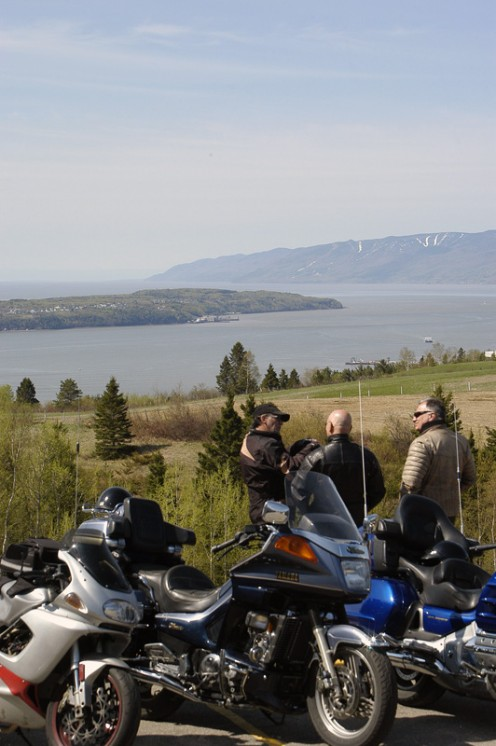 Isle-aux-Coudres from Les Eboulements