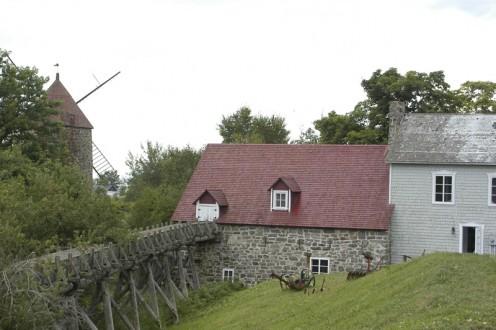 Flour Milling Economuseum on Isle-aux-Coudres