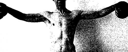 Dumbbell lateral raise targets the medial deltoids.