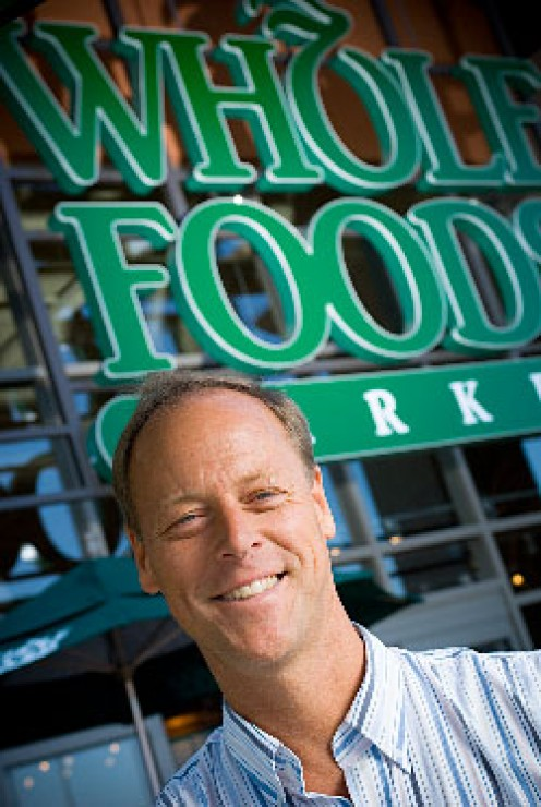 Walter Robb, CEO of Whole Foods
