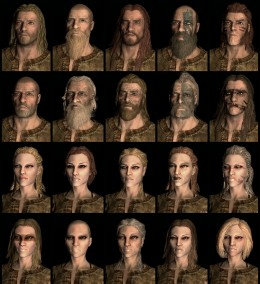 Nord Race in Skyrim. Click to view full size.