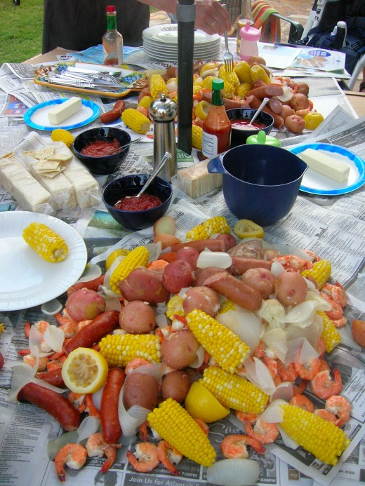 This sauce recipe is perfect for shrimp cocktail and Low Country boil!