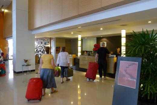 Lobby of Cha Da Hotel