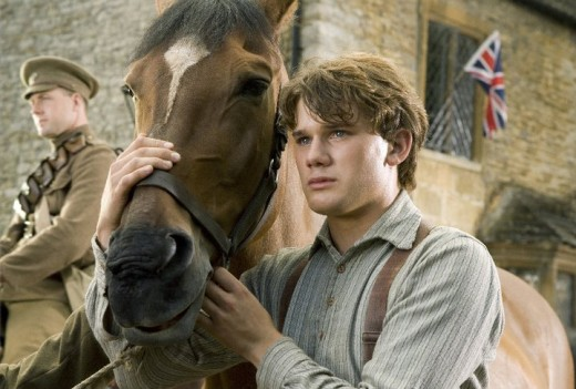 Albert (Jeremy Irvine) and Joey, his beloved horse.