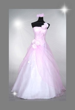 The Pink Wedding Dress Ebay