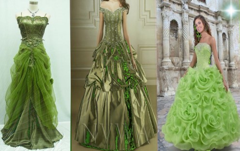 Green Wedding Dresses Ebay