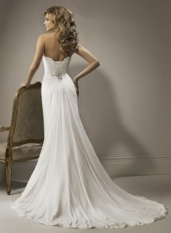 Sweetheart Beach Chiffon Wedding Dress Ebay