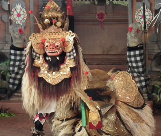 The Barong, mythological protector of Bali
