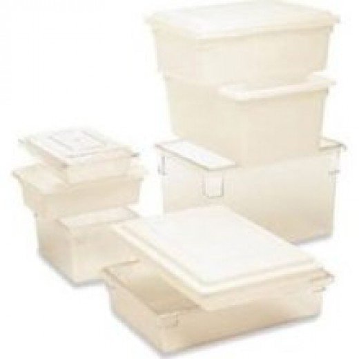 Tote bins come in different sizes and colors to fit your needs in storage and organizing.