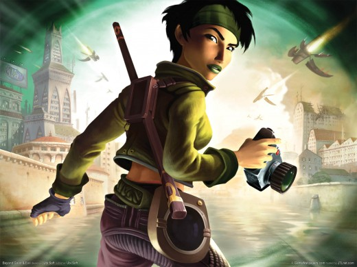 Jade from Beyond Good and Evil