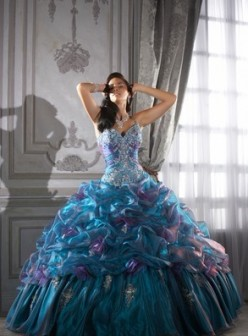 Quinceanera Wedding Evening Dress Ebay