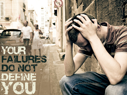 Your Failures Do Not Define You from unsoundtransient  Source: flickr.com