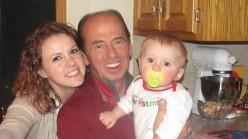 Auntie, Grandpa and Baby Amery