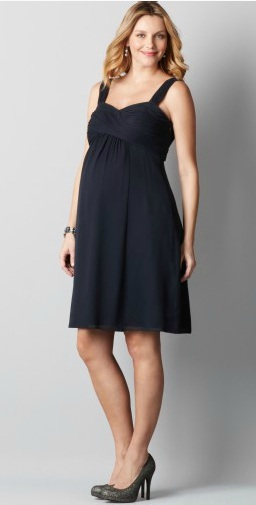 Maternity dress from Loft.com