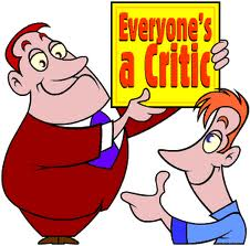 We are all critics. That is why it is important to learn the correct ways to give and receive criticism.