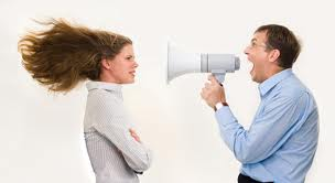 You want to always make sure that you use correct tones when speaking to one another. Never scream or shout out in anger.