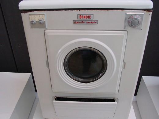 An old washing machine!
