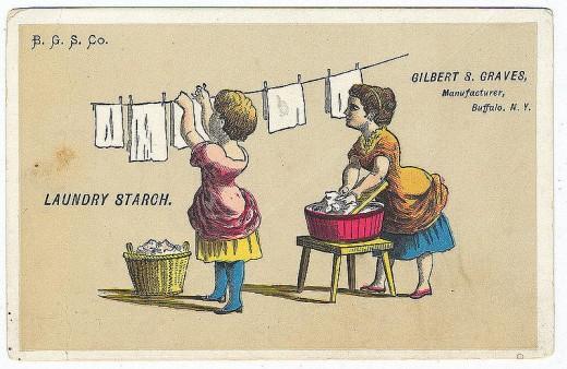 Laundry Starch Advertisement