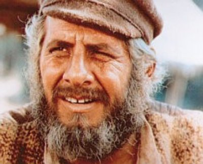 Topol in the film version of Fiddler on the Roof