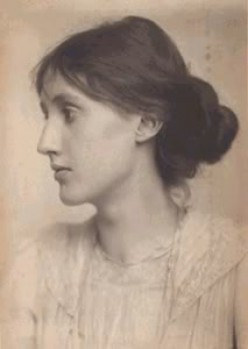 A portrait of Virginia Woolf.